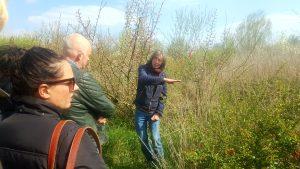 Wouter van Eck in Foodforest Ketelbroek
