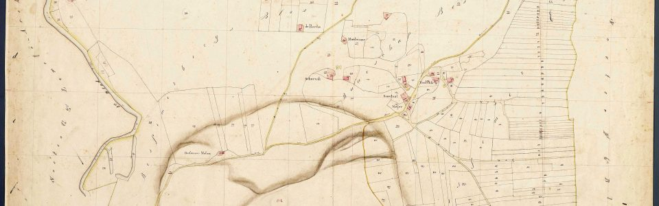 Kaart Ommen 1832