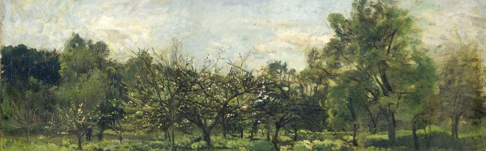Boomgaard, Charles-François Daubigny, 1865 - 1869