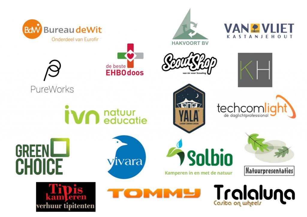 logo's overige partners de groene koepel